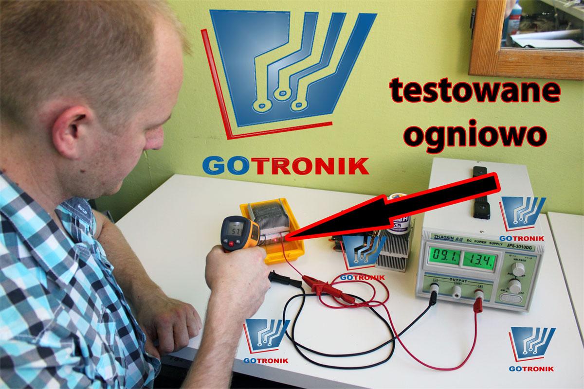 Testowanie ogniw Peltiera - GOTRONIK 2013