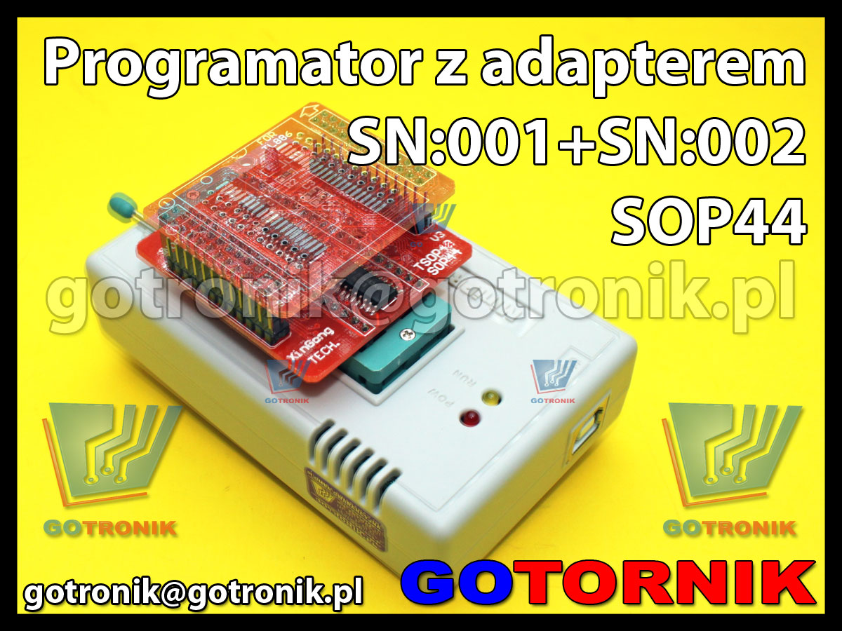 TL866A programator pamięci uniwersalny EPROM, FLASH, Serial eeprom, pamięci szeregowych, SPI, MicroWire, I2C, UV