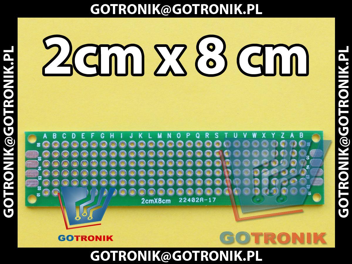 Płytka uniwersalna 2cm x 8cm GOTRONIK