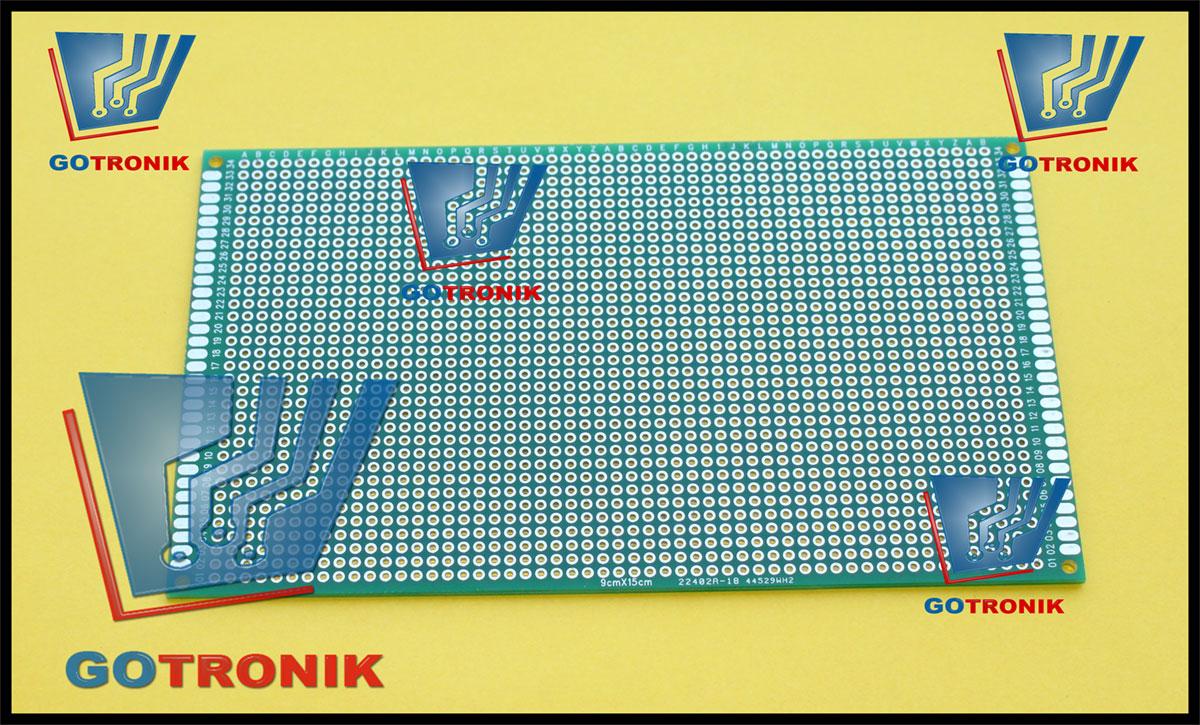 Płytka uniwersalna 9cm x 15cm GOTRONIK
