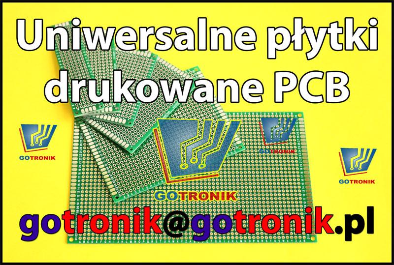 Uniwersalne płytki drukowane PCB