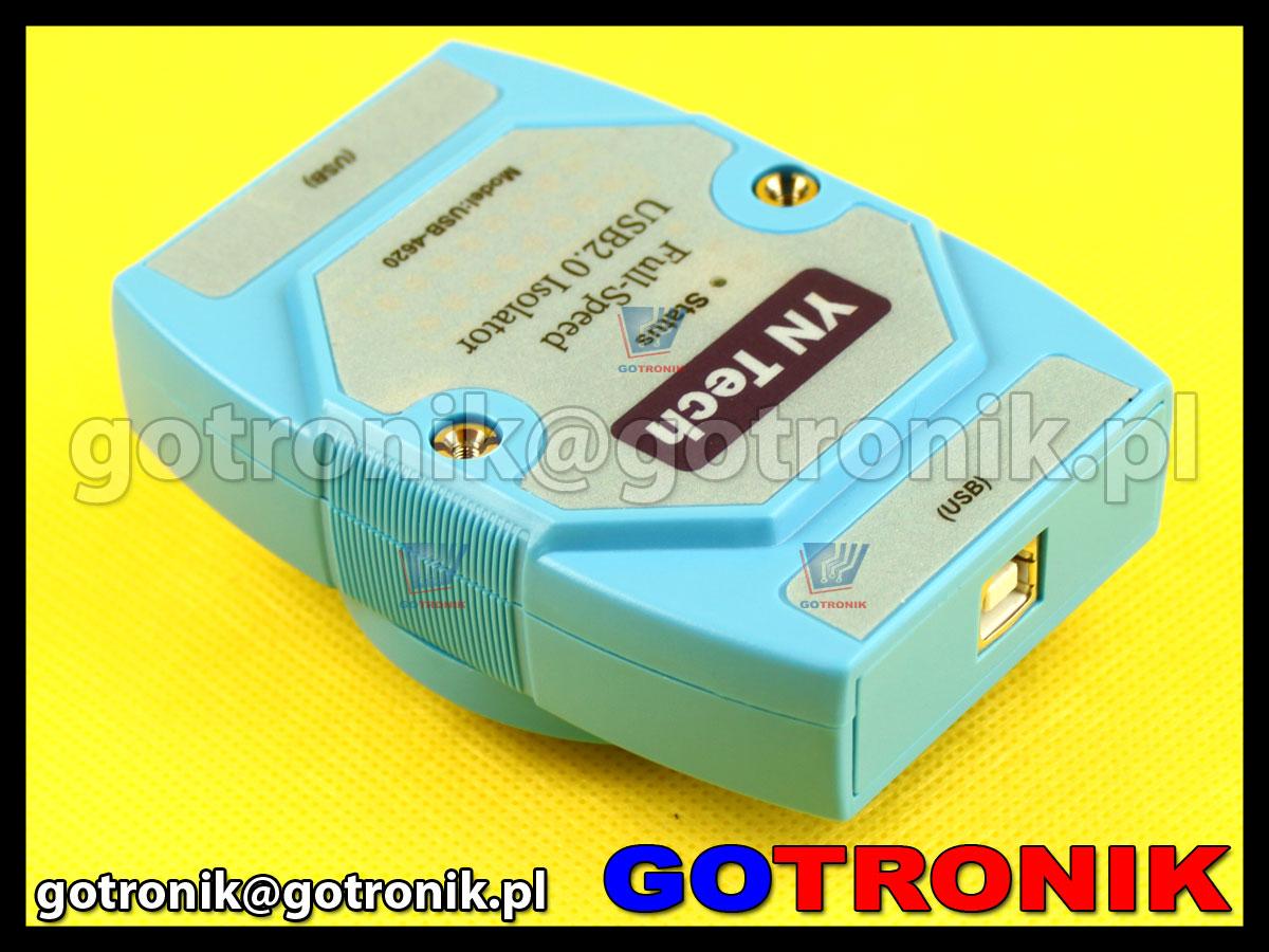 USB-4620 izolator separator galwaniczny portu USB 2.0 Yn tech