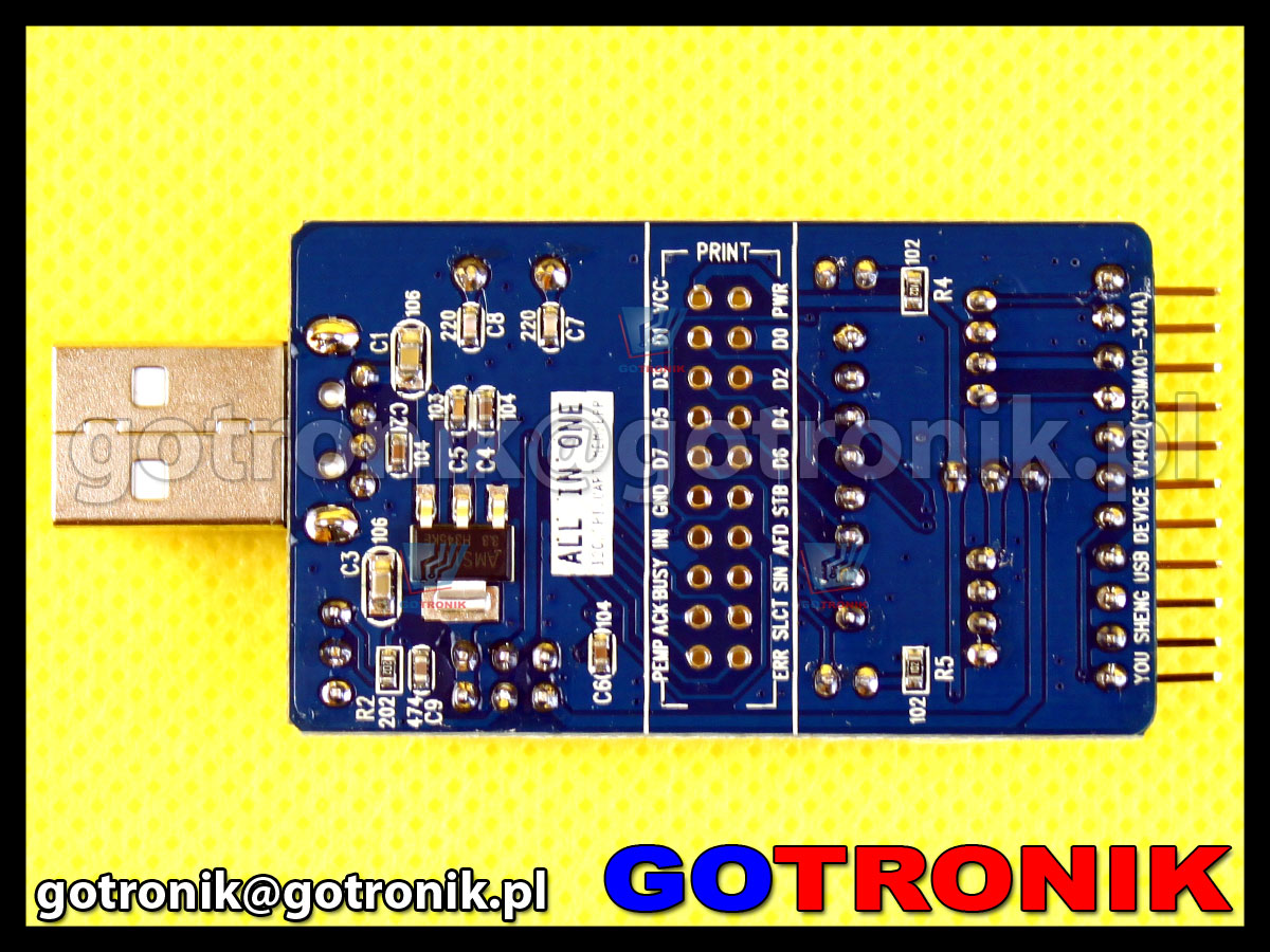 Konwerter USB to SPI I2C IIC UART TTL ISP