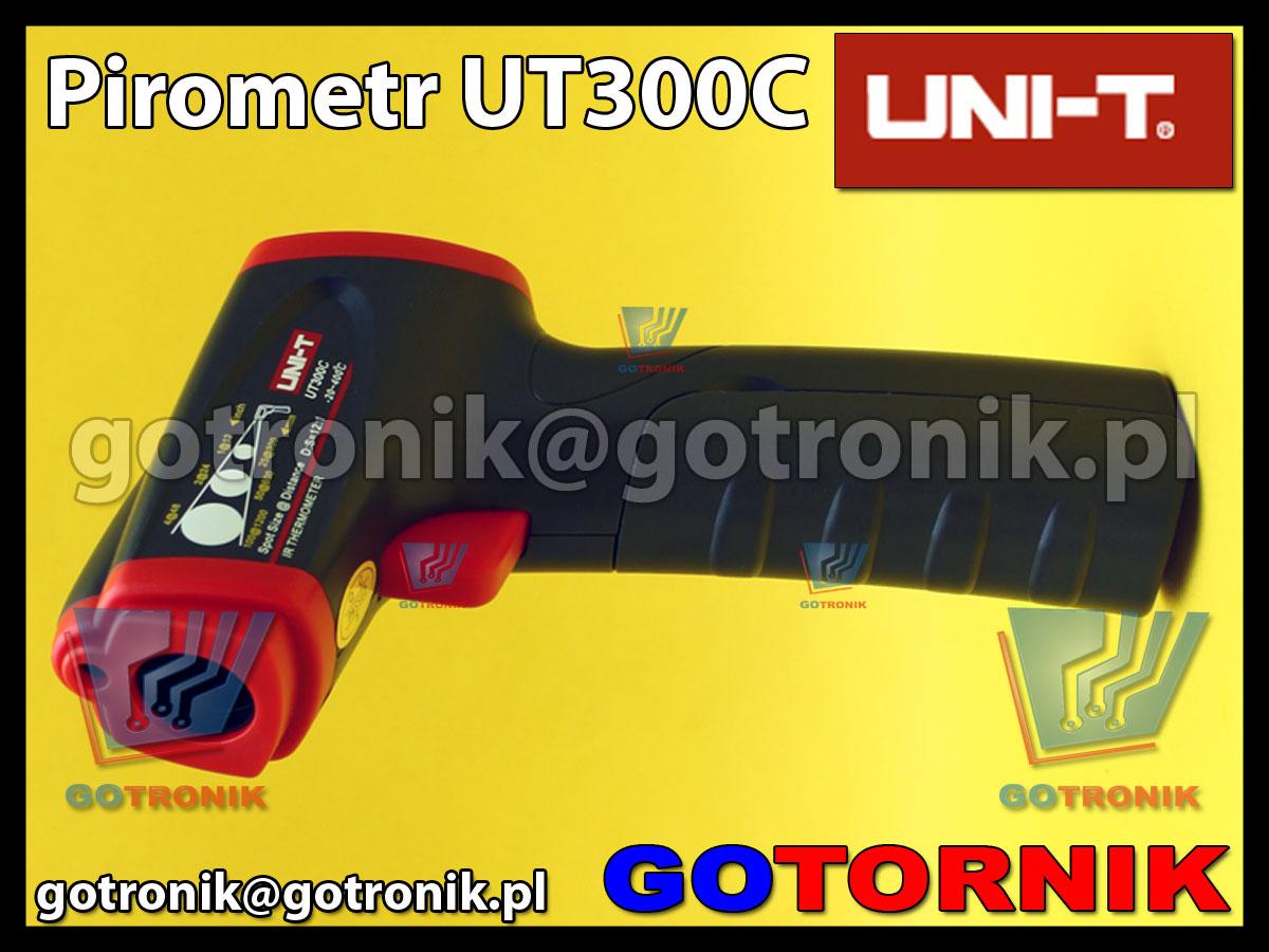 UT300C pirometr cyfrowy miernik tempearatury UNI-T UT-300C