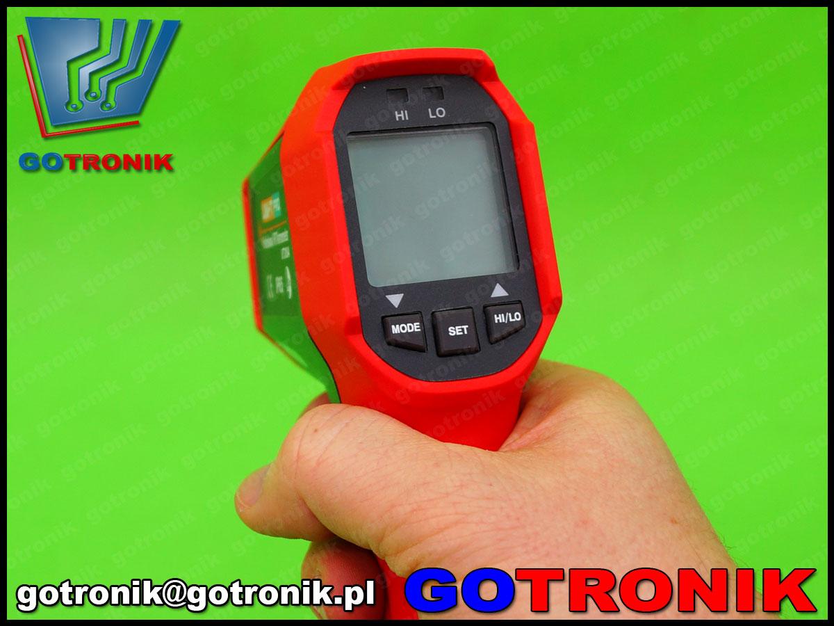 UT309A Unit PRO, pirometr, miernik temepratury, cyfrowy termometr, podwójny laser, termometr laserowy, UT-309A
