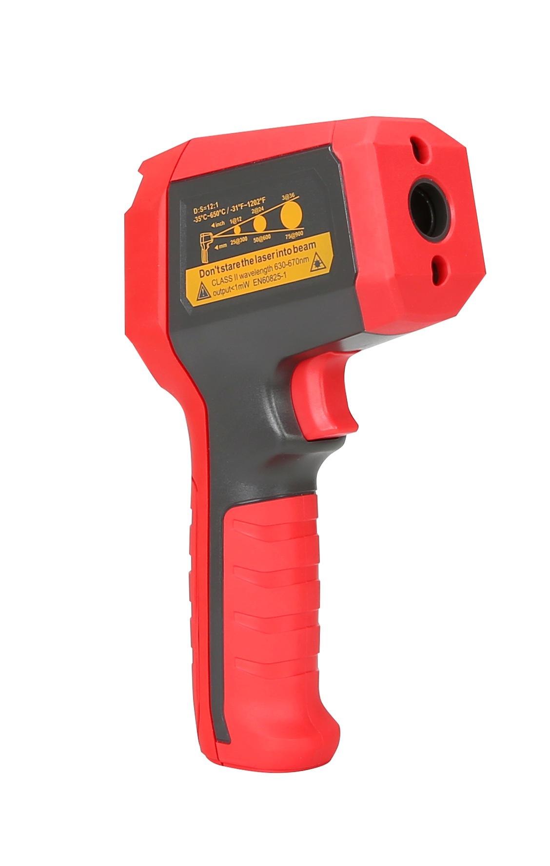 UT309C Unit PRO, pirometr, miernik temepratury, cyfrowy termometr, podwójny laser, termometr laserowy, UT-309C