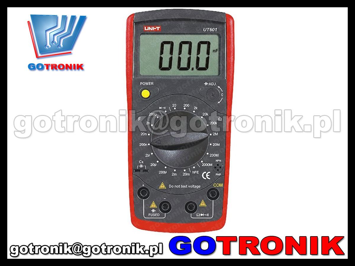 Multimetr uniwersalny UT139A firmy Uni-t