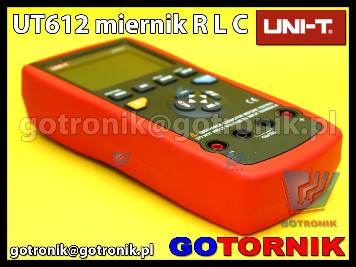 UT612 miernik RLC pojemności indukcyjności rezystancji USB Uni-t