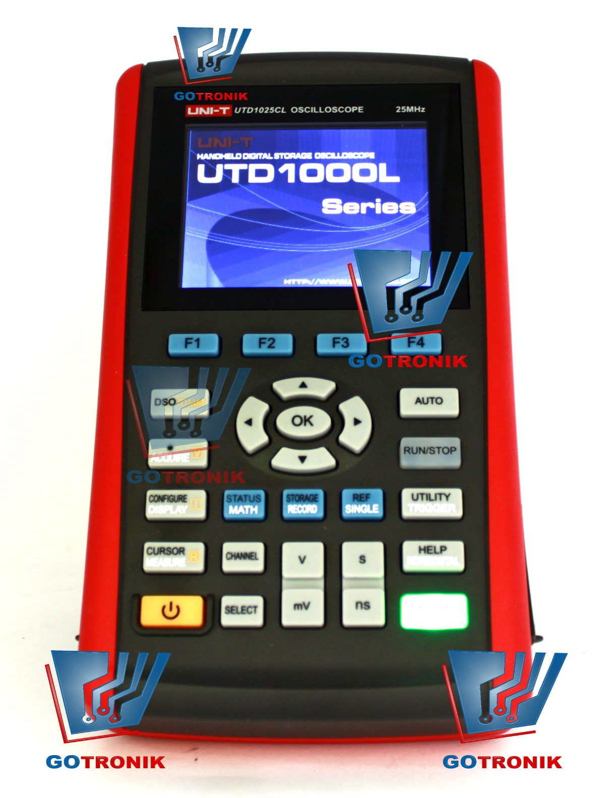 Oscyloskop cyfrowy UTD1025CL 25MHz SKOPOMETR UNI-T