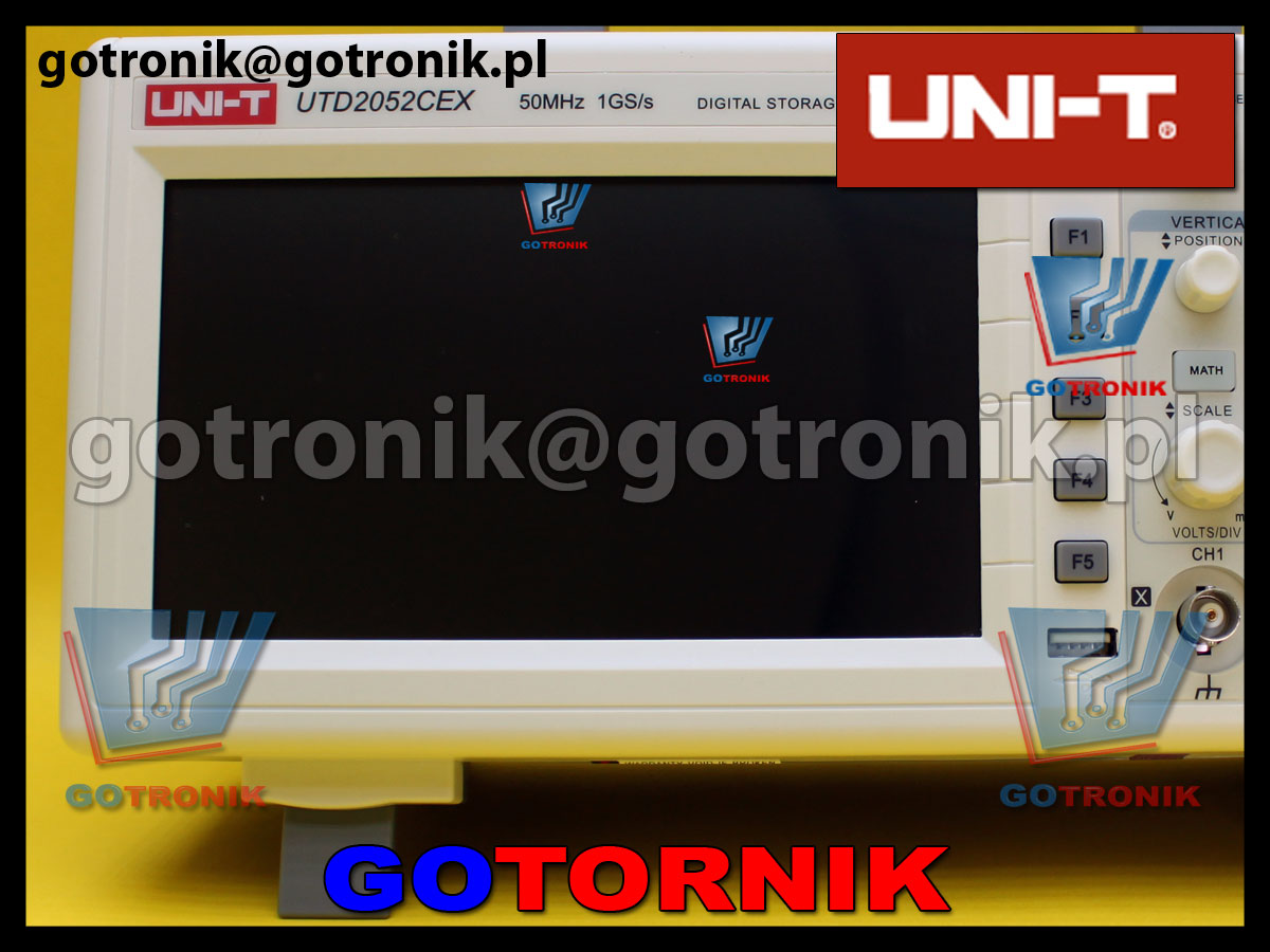 UTD2052CEX oscyloskop cyfrowy produkcji Uni-t