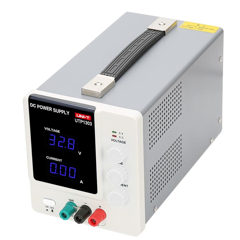 UTP1303 zasilacz regulowany pojedyńczy laboratoryjny 32V 30V 3A warsztatowy unit liniowy na transformatorze