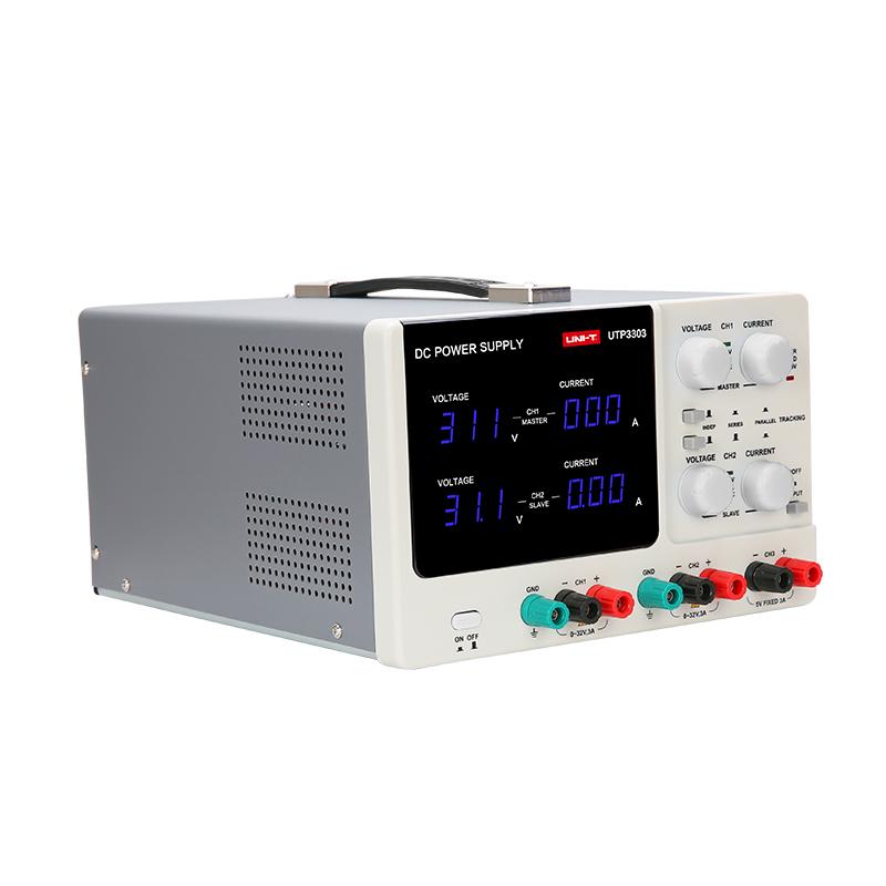 UTP3303 zasilacz laboratoryjny symetryczny podwójny unit 30V 32V 3A 5V