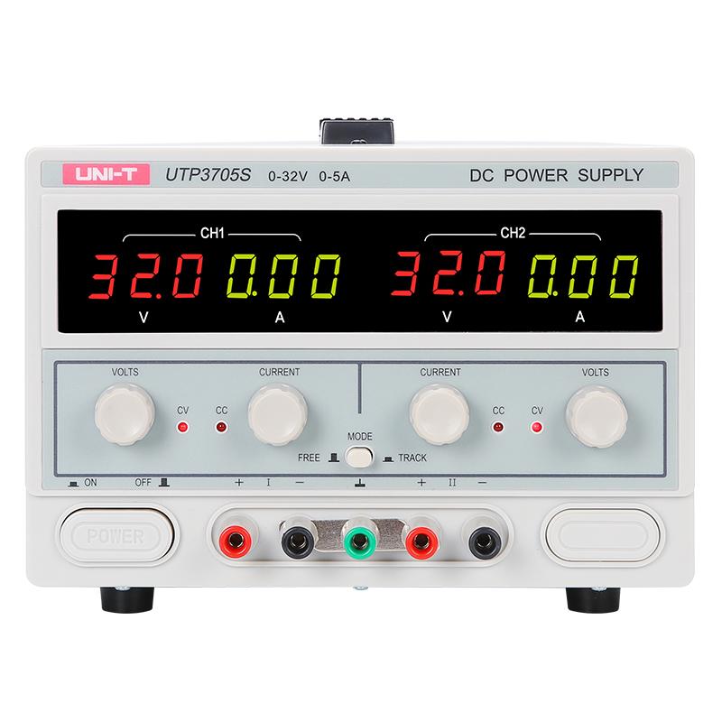 UTP3705s zasilacz laboratoryjny symetryczny podwójny unit 30V 32V 5A 5V