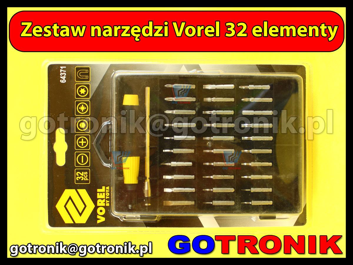 Zestaw wkrętaków Vorel 64371 32 elementy