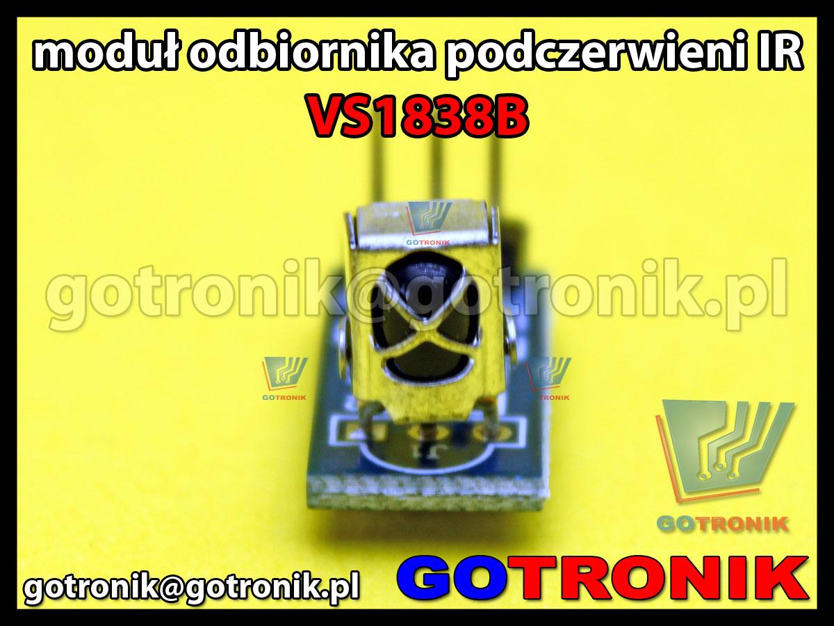 Moduł odbiornika podczerwieni IR VS1838B