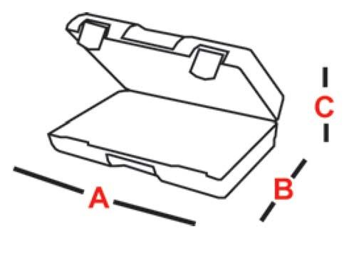 walizka wymiary