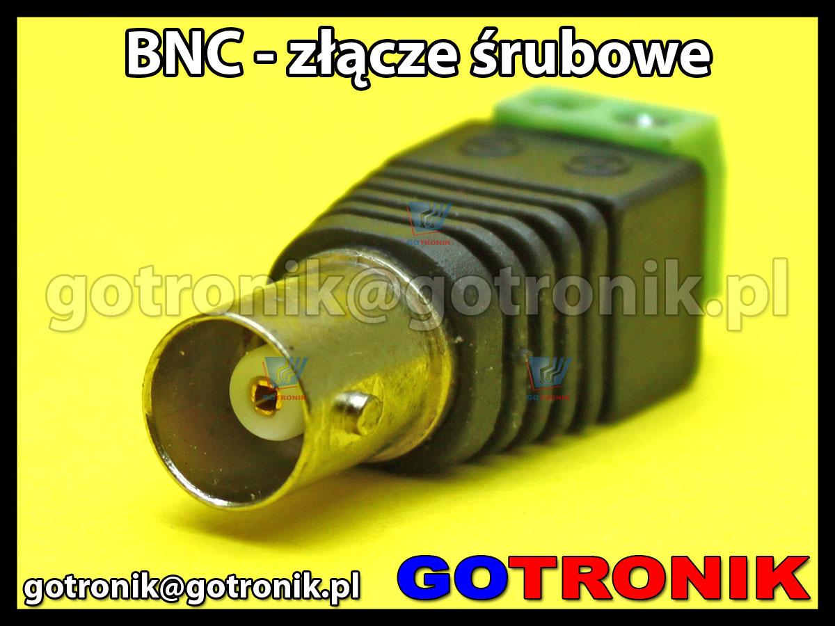 Adapter gniazdo BNC - złącze śrubowe ARK-2 terminal block