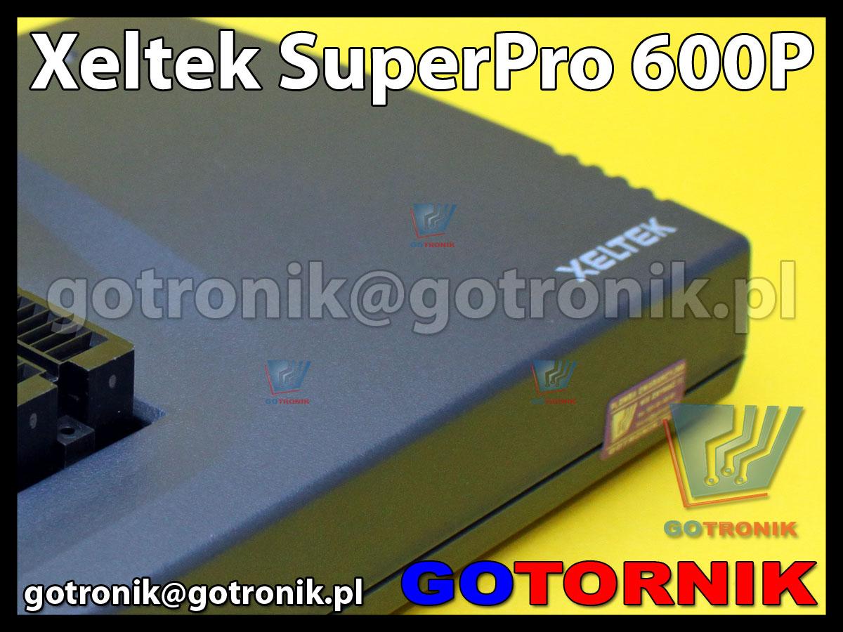Xeltek SuperPro 600P uniwersalny programator do pamięci Eprom, Flash, mikrokontrolerów, procesorów, 24xx, SPI, bios, smd, sterowników