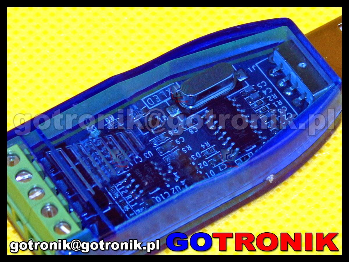 YN-4852 konwerter z interfejsu USB na RS-485 lub RS-422