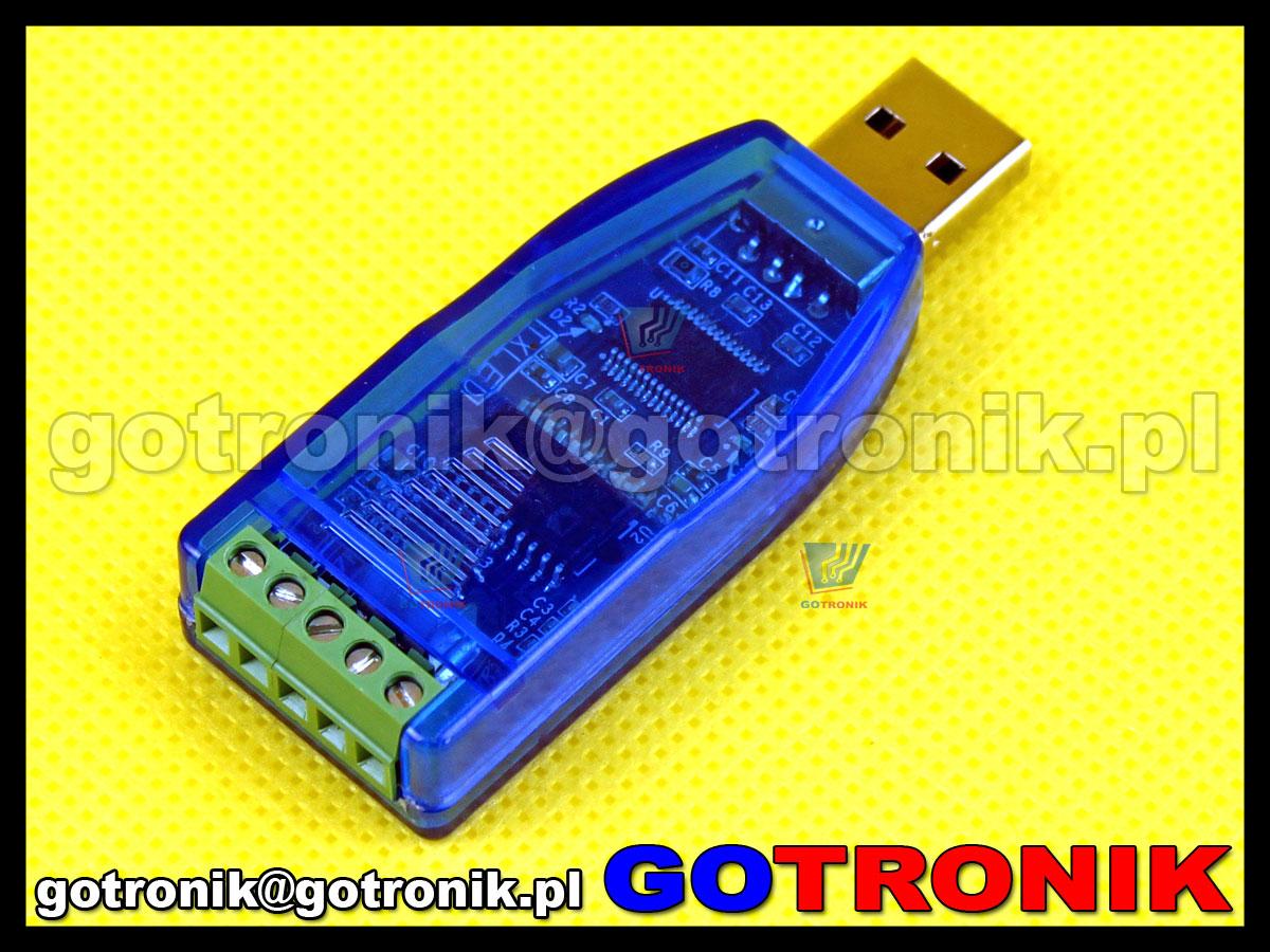 YN-485I konwerter z USB na RS485 z izolacją magnetyczną