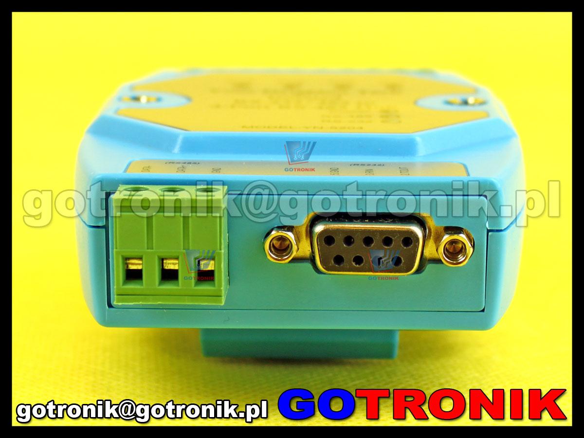 YN-5204 izolowany 4 portowy hub RS-485