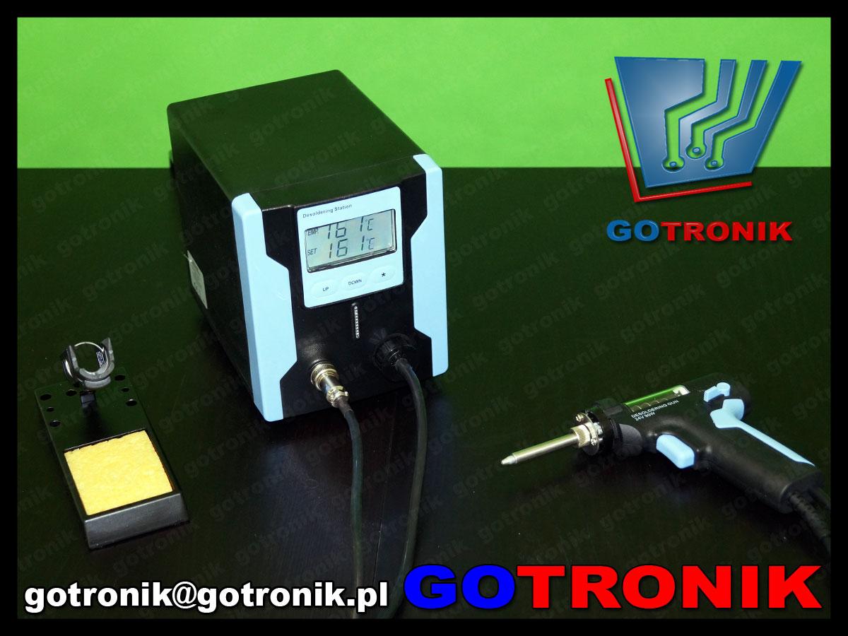 ZD-8915 rozlutownica stacja rozlutowywująca rozlutownicza odsysacz automatyczny do cyny ZD8915