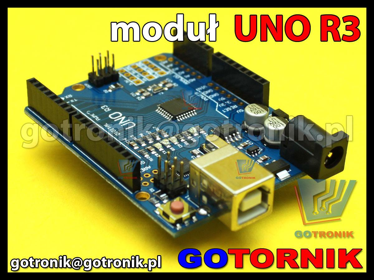 Zestaw startowy UNO R3 zgodny z Arduino ATmega328 AVR
