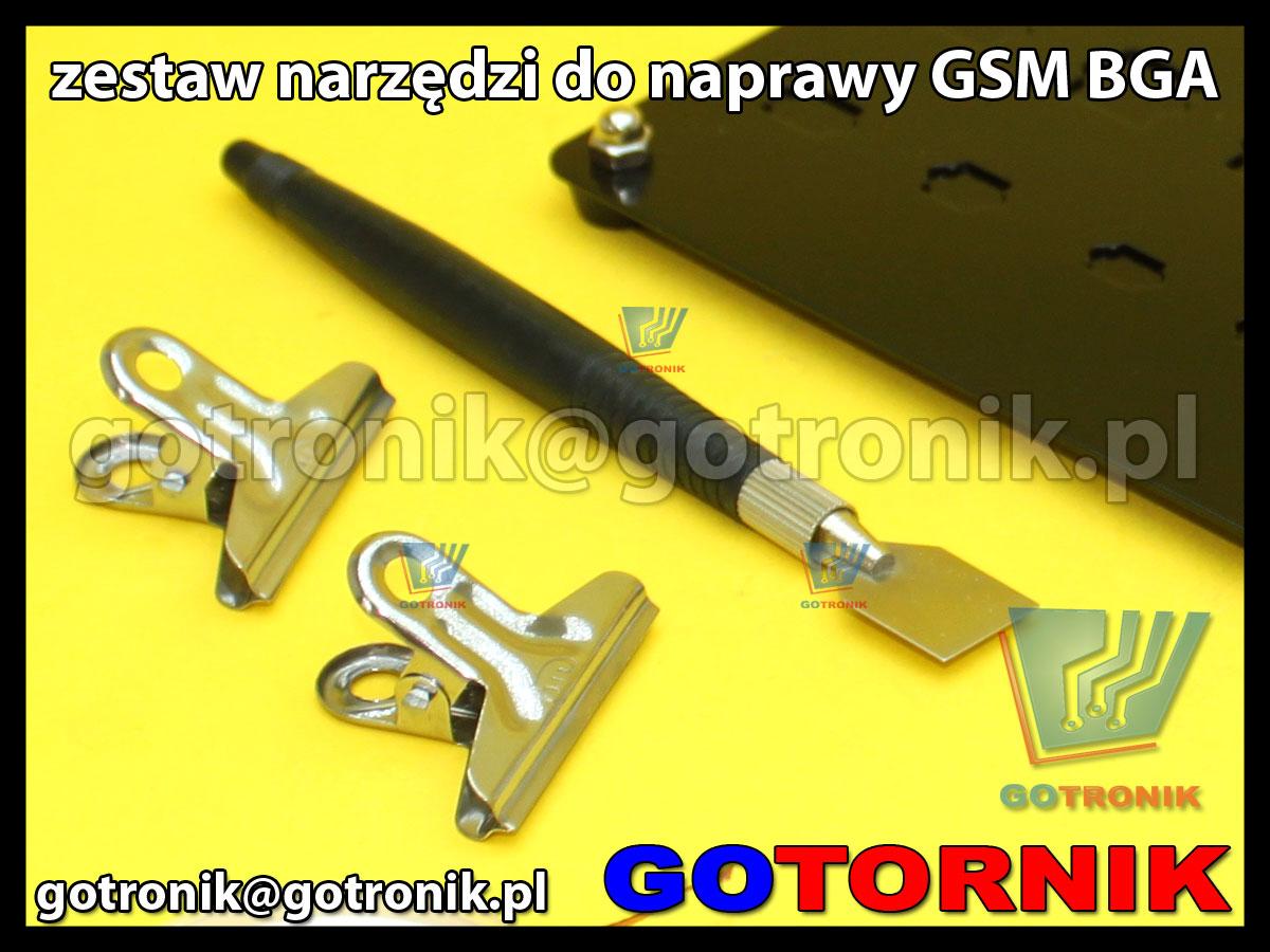 BST-326 zesta do serwisu telefonów gsm bga podstawa serwisowa uchwyt
