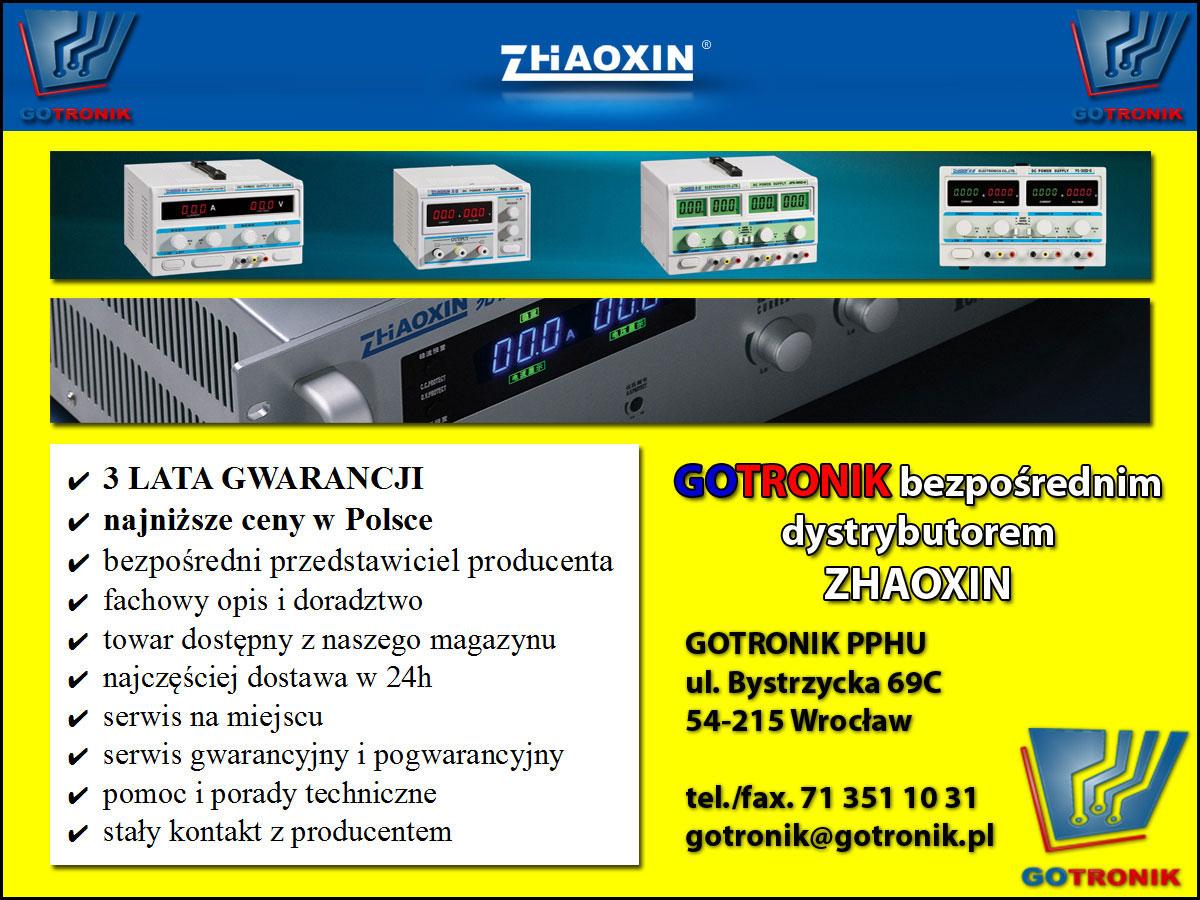 Gotronik dystrybutor ZHAOXIN ZAOXIN