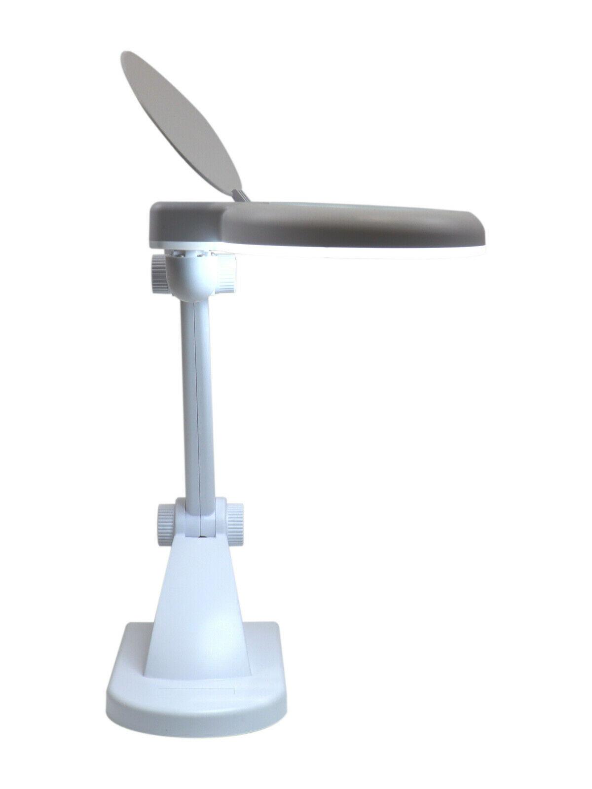 LAM-038, lampa z lupą 5d, lampa 9102LED-M, lampa 8092, lampa ze szkłem powiększającym, lupa z podświetleniem, lupa z oświetleniem, lampa z powiększeniem, Lampa x30 diod LED z lupą o powiększeniu 5D x2,25