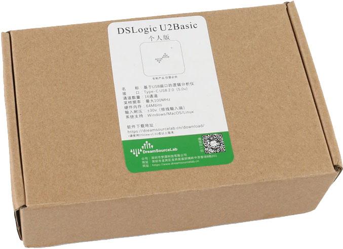 DSLogic U2Basic analizator stanów logicznych 16 kanałowy DreamSourceLab DSView