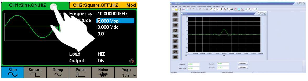 SDG2082X Siglent generator funkcyjny DDS 80MHz arbitralny SDG2000x