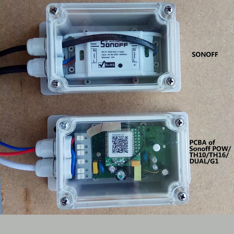 Sonoff IP66 Waterproof Case - obudowa wodoodporna IP66 Waterproof Case IM171017001