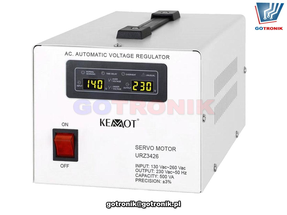 Automatyczny stabilizator napięcia KEMOT MSER-1000