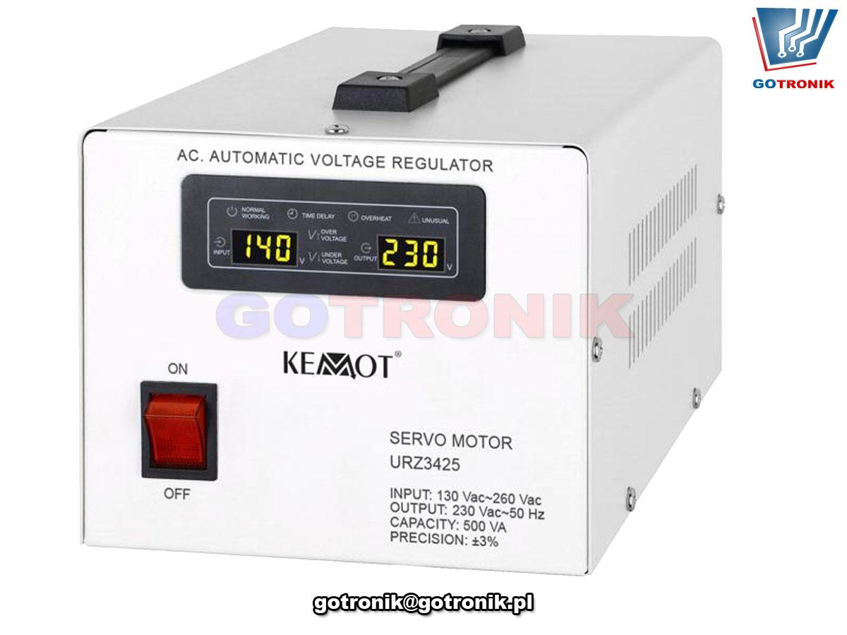 Automatyczny stabilizator napięcia KEMOT MSER-500