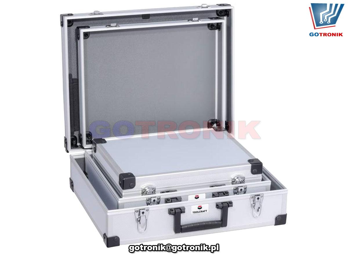 Zestaw walizek bez wyposażenia 3 szt. TOOLCRAFT TO-5091552