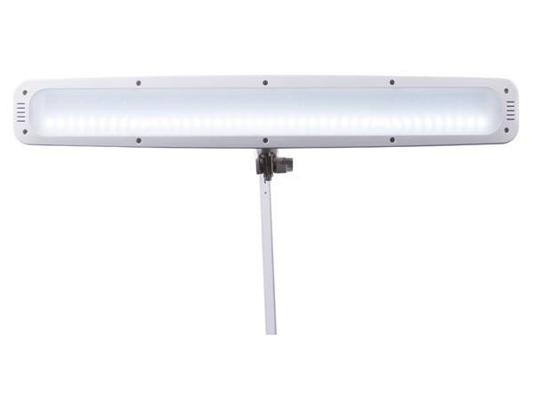 Lampa warsztatowa biurkowa z funkcją ściemniacza 84 LED BIAŁA VTLLAMP17 Velleman