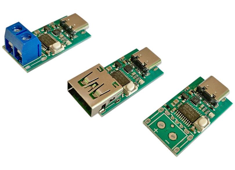 Wyzwalacz - tester dla ładowarek PowerDelivery USB typ C ZY12PDN YZXStudio BTE-1012