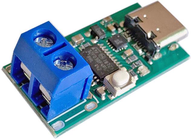 Wyzwalacz - tester dla ładowarek PowerDelivery USB typ C ZY12PDN YZXStudio BTE-1014