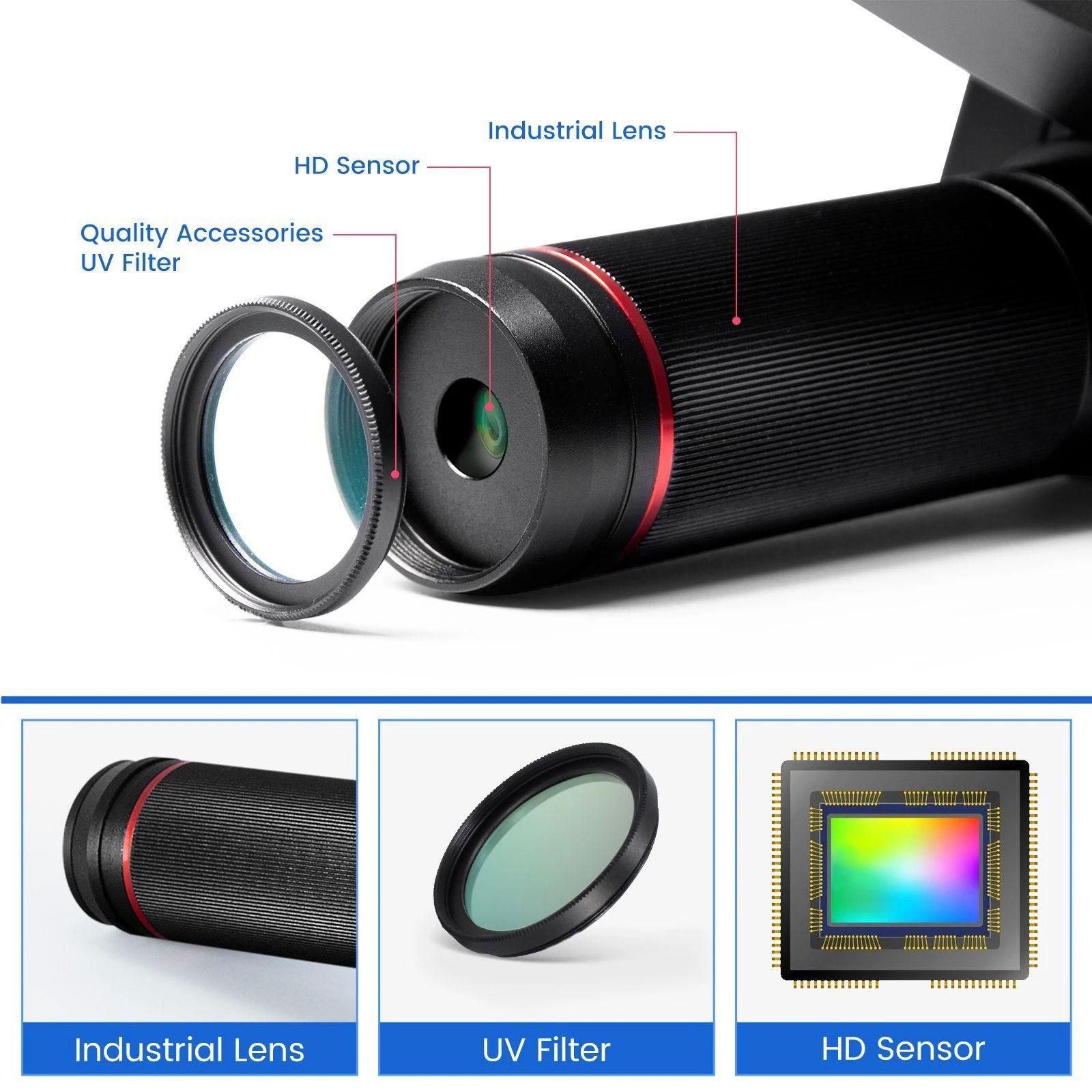 Mikroskop cyfrowy AD409 Andonstar LCD HDMI USB WiFi
