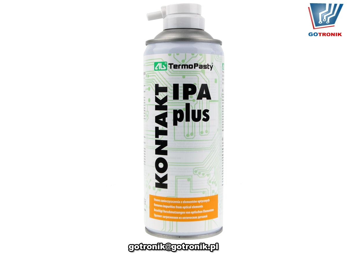 AGT-225 Kontakt IPA Plus 400ml aerozol spray alkohol izopropylowy do mycia elektroniki