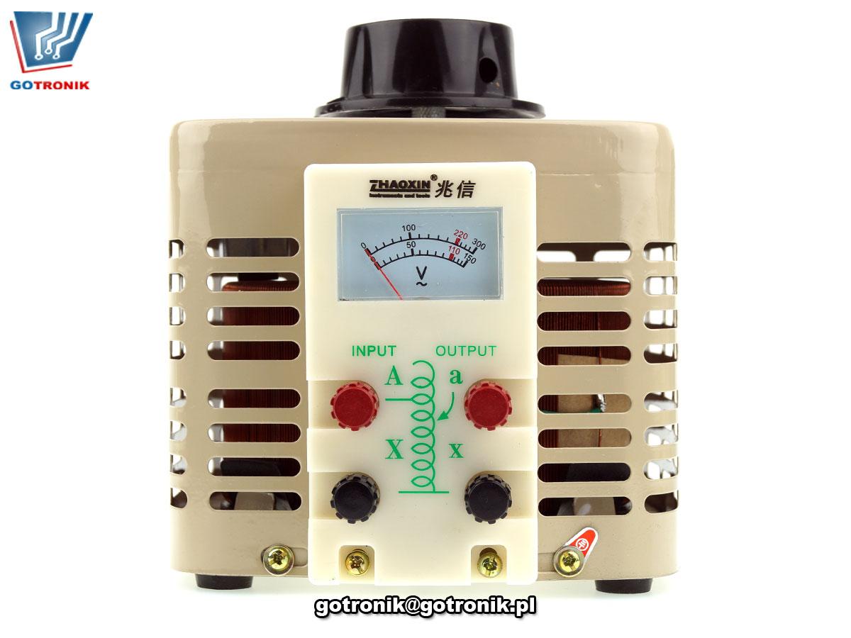 autotransformator regulowany 0-250V AC 2000W 2kVA jednofazowy