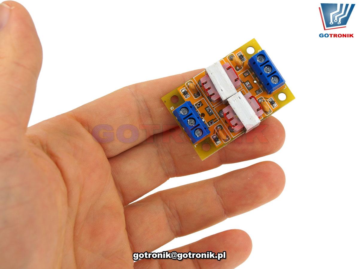 Izolator szumów akustycznych HiFi Audio Stereo Izolator 2.0 BTE-915