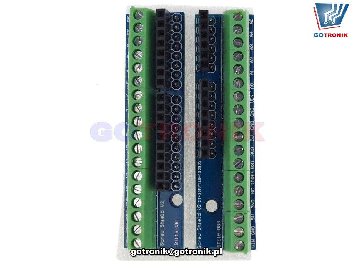 Screw Shield V2 dla Arduino - złącze śrubowe BTE-925