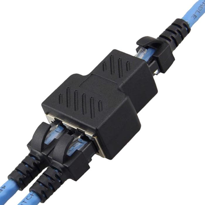 rozdzielacz sieciowy RJ45 adapter przejściówka splitter BTE-1004