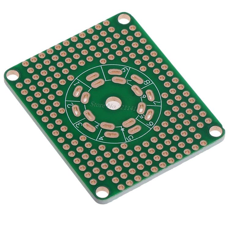 uniwersalna płytka drukowana pod podstawkę lampy elektronowej LG-159H BTE-1009