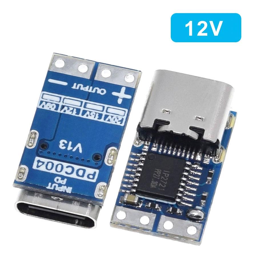 Wyzwalacz - tester ładowarek PowerDelivery USB typ C napięcie 12V BTE-1016