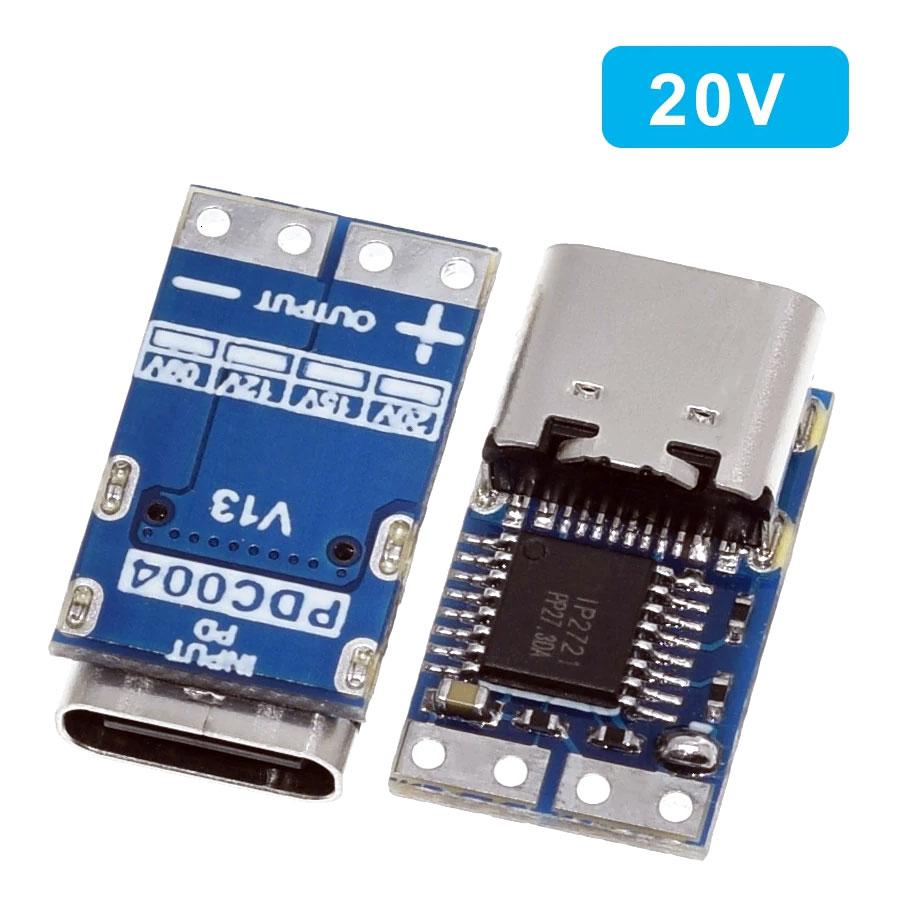 Wyzwalacz - tester ładowarek PowerDelivery USB typ C napięcie 20V BTE-1018