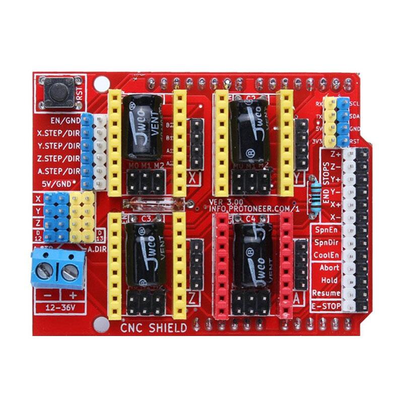 CNC Shield V3.0 - sterownik drukarki 3D Arduino BTE-203