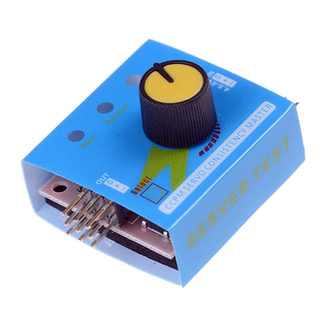 Tester serwomechanizmów 3-kanałowy ervo Tester 3CH ESC spójności prędkości kontroler BTE-204